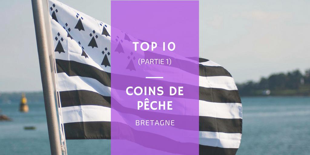 Coins de pêche en Bretagne poisson bar lieu maquereau brest ouessant aber