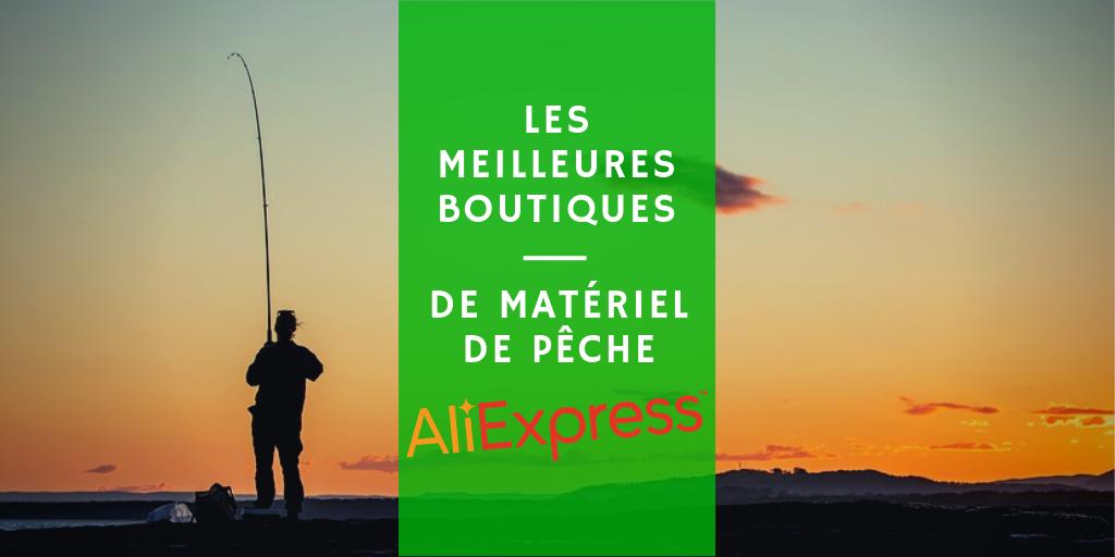 liste de boutiques de pêche AliExpress