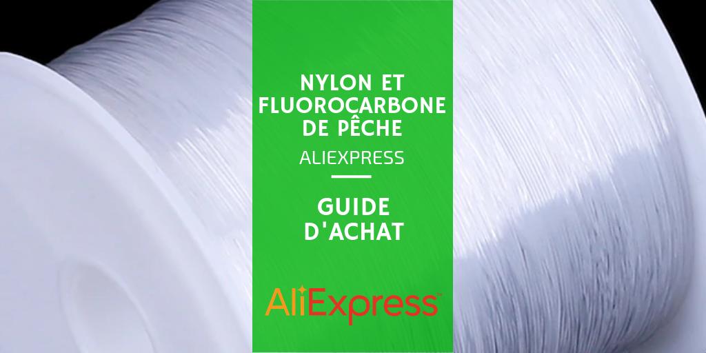 Choisir son fil nylon ou fluorocarbone AliExpress
